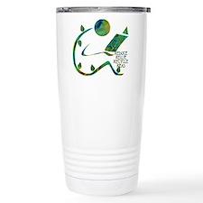 Four Rs Green Reader Travel Coffee Mug