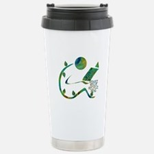 Four Rs Green Reader Travel Mug