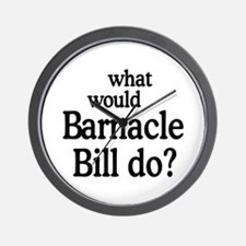Barnacle Bill Wall Clock