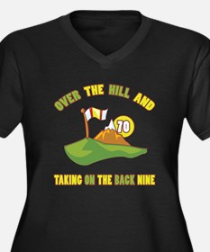 Golfing Humor For 70th Birthday Women's Plus Size