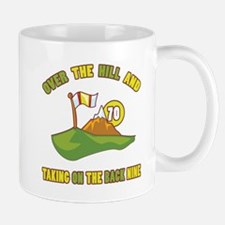 Golfing Humor For 70th Birthday Mug
