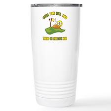 Golfing Humor For 70th Birthday Travel Mug