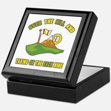 Golfing Humor For 70th Birthday Keepsake Box