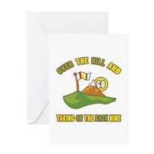 Golfing Humor For 60th Birthday Greeting Card