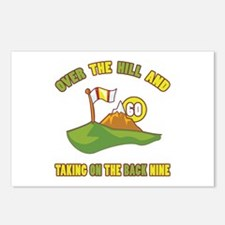 Golfing Humor For 60th Birthday Postcards (Package