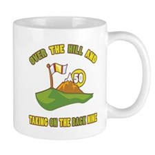 Golfing Humor For 50th Birthday Mug