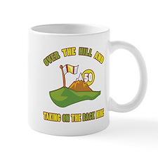 Golfing Humor For 50th Birthday Small Mug