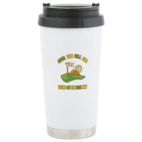 Golfing Humor For 50th Birthday Stainless Steel Tr