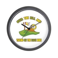 Golfing Humor For 50th Birthday Wall Clock