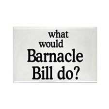 Barnacle Bill Rectangle Magnet