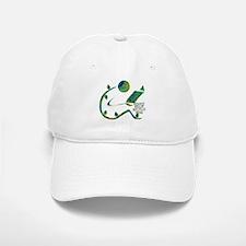 Four Rs Green Reader Baseball Baseball Cap