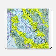 SFO Airspace Chart Mousepad