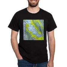 SFO Airspace Chart T-Shirt