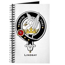 Lindsay Clan Crest Badge Journal