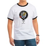 Leslie Clan Crest Badge Ringer T