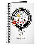 Lennox Clan Crest Badge Journal