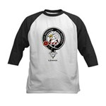 Lennox Clan Crest Badge Kids Baseball Jersey