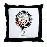 Lennox Clan Crest Badge Throw Pillow