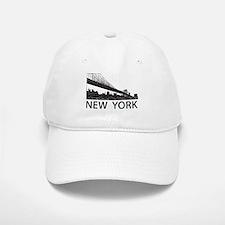 New York Skyline Baseball Baseball Cap