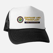 FAA Certified A & P Mechanic Trucker Hat