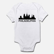 Philadelphia Skyline Infant Bodysuit