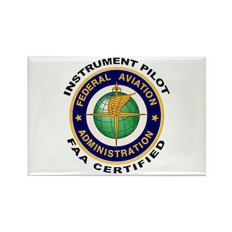 FAA Certified Instrument Pilot Rectangle Magnet (1