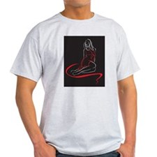 Sexy Woman Sketch T-Shirt