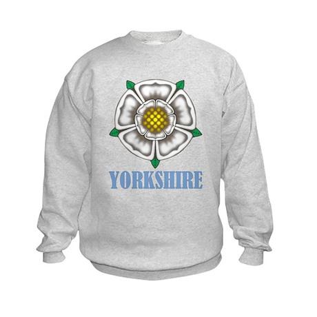 White Rose of York Kids Sweatshirt