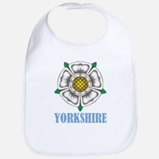 White Rose of York Bib