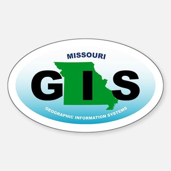 Missouri GIS Oval Decal