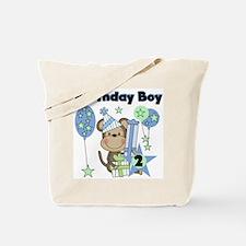Monkey 2nd Birthday Tote Bag