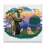 St Francis #2/ Cairn Ter Tile Coaster