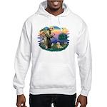 St Francis #2/ Cairn Ter Hooded Sweatshirt