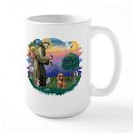 St Francis #2/ Brussels G Large Mug
