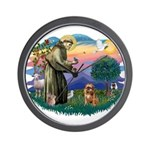St Francis #2/ Brussels G Wall Clock