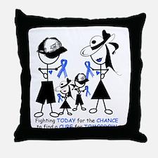 Prostate Cancer Awareness Throw Pillow