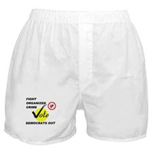 CLEAN OUT THE HOUSE Boxer Shorts
