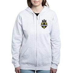 Pittsburgh Coat Of Arms Zip Hoodie
