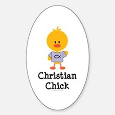 Christian Chick Decal
