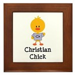 Christian Chick Framed Tile
