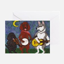 Country Dogs Greeting Cards (Pk of 10)