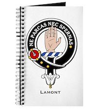 Lamont Clan Crest Badge Journal