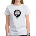 Lamont Clan Crest Badge Women's T-Shirt