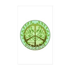 Peaceful Tree Hugger Decal