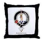Kirkpatrick Clan Crest Badge Throw Pillow