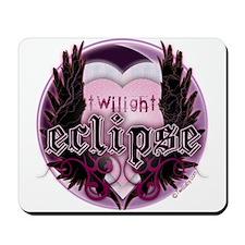 Eclipse Purple Moon by Twibaby.com Mousepad