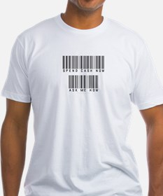 Bar Code Spend Cash Now Shirt
