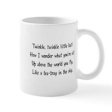 twinkle, twinkle little bat Mug