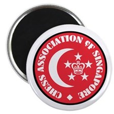 "Singapore Chess 2.25"" Magnet (10 pack)"
