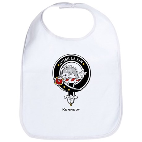 Kennedy Clan Crest Badge Bib